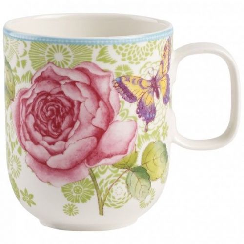 Rose Cottage Mug - Green